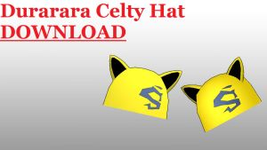 DRRR Celty Hat DOWNLOAD by RiSama