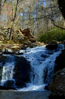 Cochran Mill Waterfall by Shebby2007