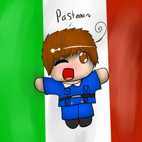Present for MM6034: Chibi Italy by Hallerpl