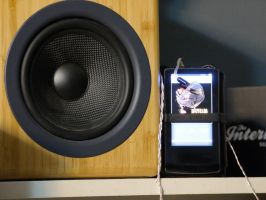Audio Engine A5 Bamboo Speakers by 24bitaudio