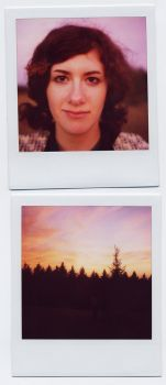 not another? sunset polaroid by 17secondsaftersunset