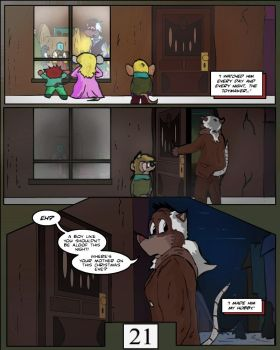 Keeping Up with Thursday, Issue 1 page 21 by BestHeelofAllTime