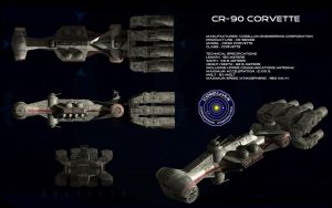 CR-90 Corellian Corvette ortho (3) by unusualsuspex
