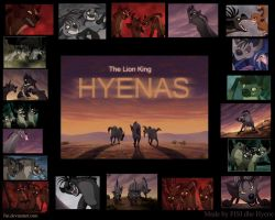TLK Hyenas wallpaper by fiszike