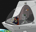 A Well-Lit Cockpit by KellTain