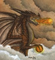 Dragon of Earth's Fire by Jungle-Fire