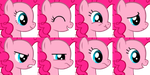 MLP Emotion set Pinkie by NeoBolt