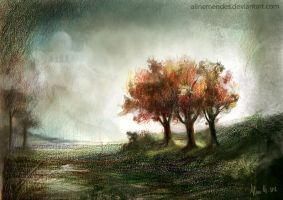 3 trees by AlineMendes
