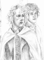 Hobbits by Ngaladel