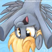 Square Series - Derpy Hooves by sophiecabra