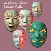 Angelmoon17 Fantasy Masks by AngelMoon17
