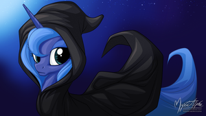 Luna Cloaked 16:9 by mysticalpha