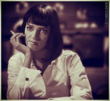 Mia Wallace by foxmulder666
