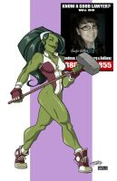 She-Hulk by KidNotorious 2 by VPizarro626