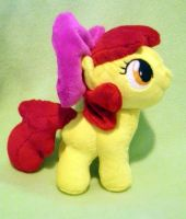 AppleBloom - Filly Plush - Commission by Sparkle-And-Sunshine