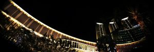 Central Park Mall, Jakarta at Night by y0rri