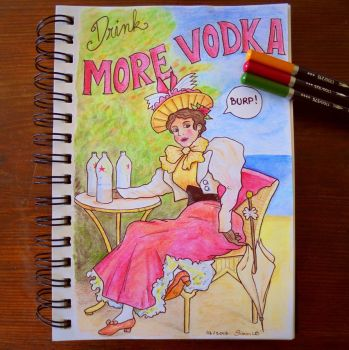 Drink more Vodka by SimonLB