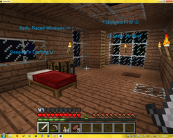 Minecraft House - Bedroom by Seraphiima-Stables