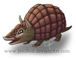 Armadillo Pup by JeniRed