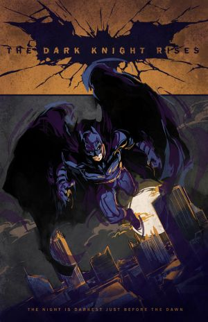 The Dark Knight Rises by dicemanart