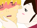 kxk kissing on the cheek by Lilychan6