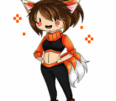 Naru Fox pixel~ (? by NarukoMegpoid
