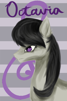 MLP: Octavia - Iphone BG by PonySketchy