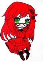 Chibi Ophelia by Skarlet-Death