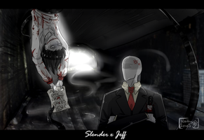 4 of 8 -Slender x Jeff- by NathyLove5