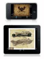 Hot Rod Art For Ipad, Iphone by FutureElements