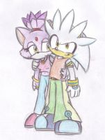 Silvaze with cool clothes by LeniProduction