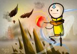 Aang by abdallah-aub