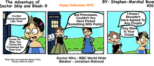 Doctor Skip Adventures #26 - Halloween 2015 by GreedLin