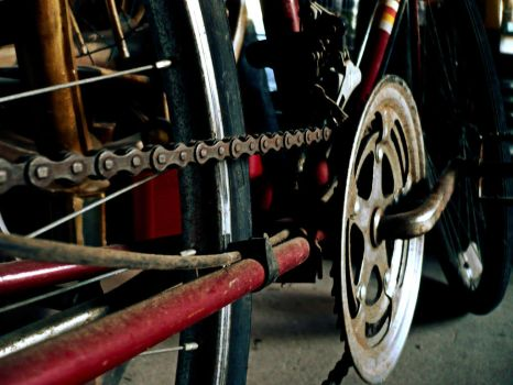 old bike 3 by Foreigner227