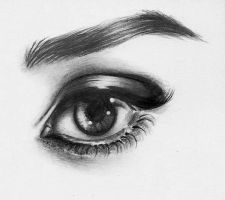 Audrey Eye Detail by heatherw290