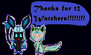 Thanks for the 12 watchers!!!! by XxQueenofChaosxX