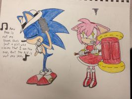Amy Rose is NOT my lover by IronBatMaiden91