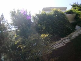 Blurry Side View of MJs house by SailorSun18