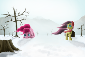 Snow Walk by mmtOB3