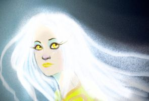 mon Sun by ladypumpkinseed