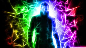 Deus Ex Fractal colorful wallpaper by Wocorcaman
