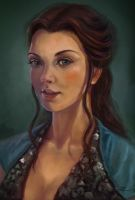 Margaery Tyrell by Jiazhu