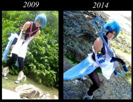 ~Cosplay Progressing - Aqua KHBBS. by Dragomyra
