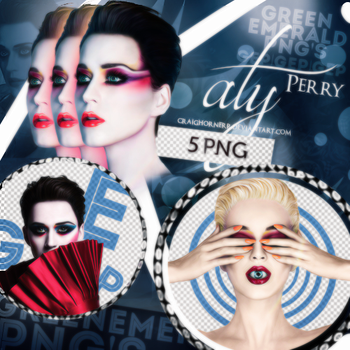 PNG Pack (68) Katy Perry by CraigHornerr