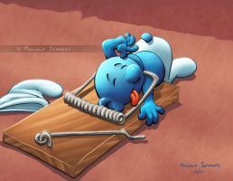 Smurf Trap by malsem