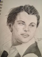 Leonardo DiCaprio Sketch by dancingchaos409