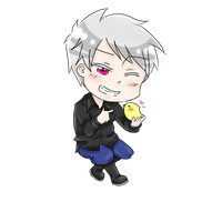 Hetalia- Chibi Prussia by kitty614