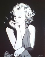 Marilyn Monroe3 by purposemaker