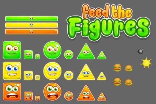 Feed the Figures by FlashGameArtist4Hire