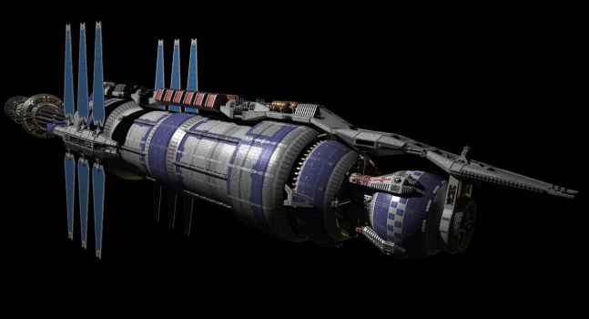 Babylon 5 WIP by Crook-deviant